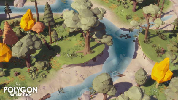 POLYGON - Nature Pack - Synty Studios - Unity and Unreal 3D low poly assets for game development