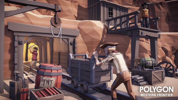 POLYGON - Western Frontier Pack - synty-store