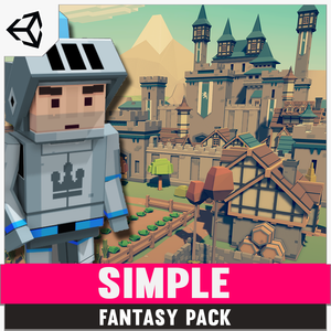 Simple Fantasy - Cartoon Assets - synty-store