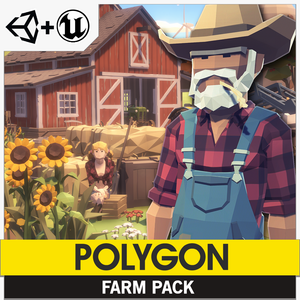 POLYGON - Farm Pack - synty-store