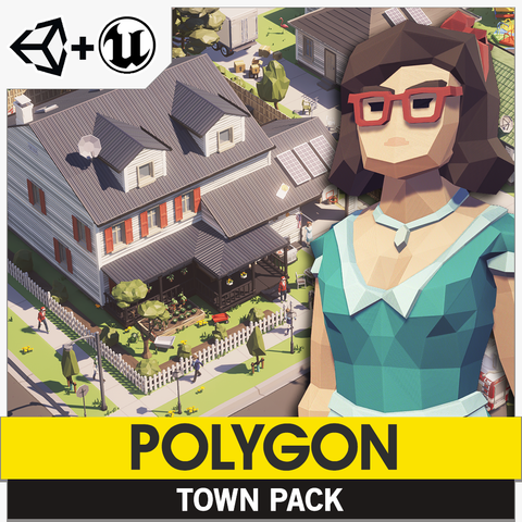 POLYGON - Town Pack