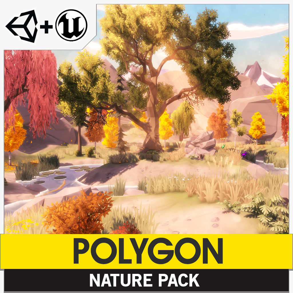 POLYGON - Nature Pack - synty-store