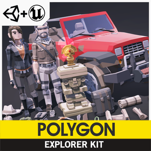 POLYGON - Explorer Kit - synty-store