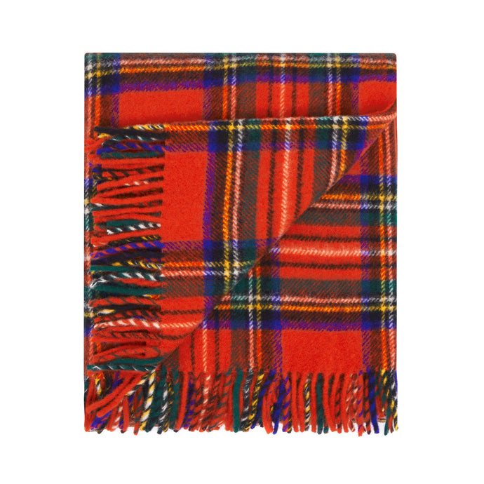 Travel Throw Rug-Royal Stewart