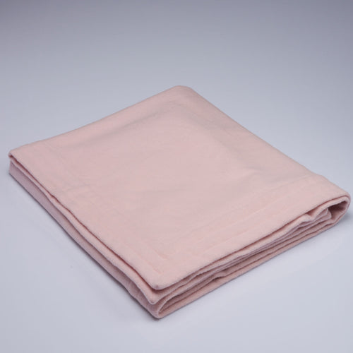 Bo-Peep Pink Cot with Channel Stitched Edge