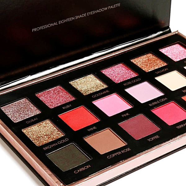 EYESHADOW PALETTE  BRIGHT LUXE EDITION - AQUALUZZA