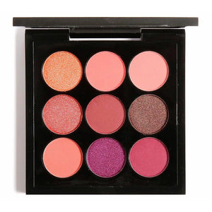 EYESHADOW x 9  GOLDEN PEACH - AQUALUZZA