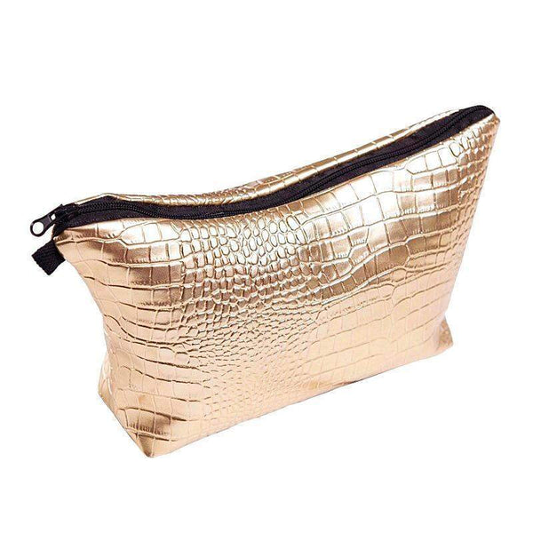 GOLDEN GLAM MAKUP BAG - AQUALUZZA