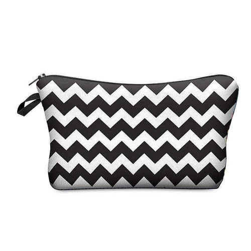 PRINTED MAKEUP BAG - AQUALUZZA