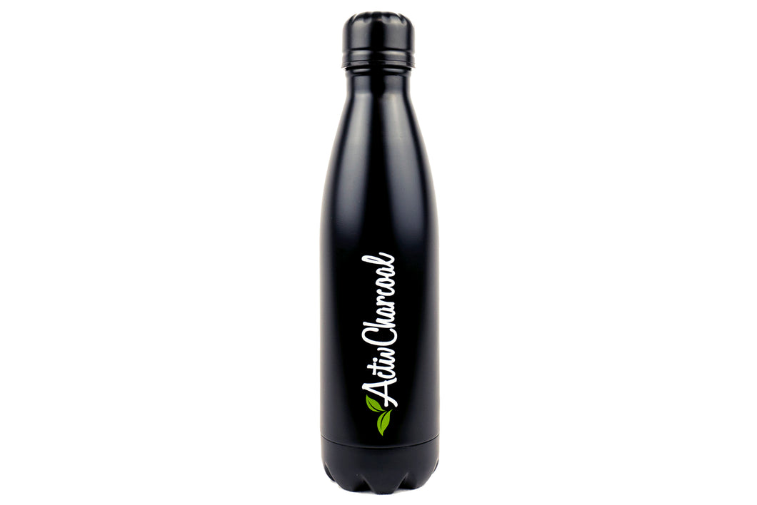 ActivCharcoal black drink bottle