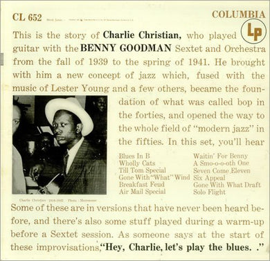 Charlie Christian: With the Benny Goodman Sextet (Vinyl LP)