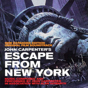 John Carpenter: Escape From New York (Original Film Soundtrack) (New Expanded Edition) (Vinyl LP)