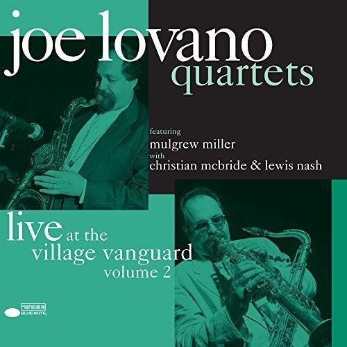 Joe Lovano: Quartets: Live At The Village Vanguard Vol. 2 (Vinyl LP)