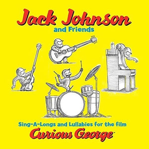 Jack Johnson & Friends: Curious George (Sing-a-Long Songs and Lullabies for the Film) (Vinyl LP)