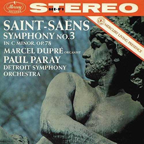 Saint-Saens / Dupre / Paray / Detroit Symphony Orc: Symphony No 3 in C Minor Op 78 - Organ (Vinyl LP)