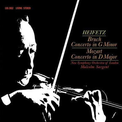 Malcolm Sargent: Bruch - Concerto In G Minor / Mozart - Concerto in D Major (Vinyl LP)