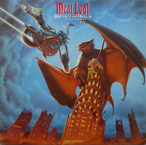 Meat Loaf: Bat Out Of Hell II: Back Into Hell (Vinyl LP)