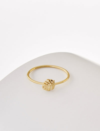 Tropical Palm Ring