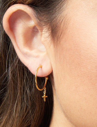 Delphine Hoop Earrings