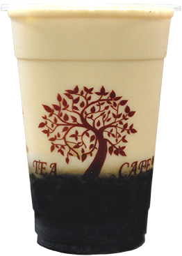 Tea Tree Cafe Grass Jelly Milk Tea