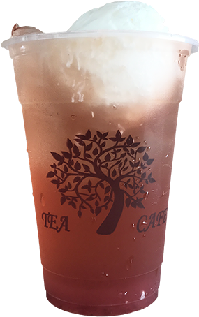Tea Tree Cafe Strawberry Ice Cream Soda