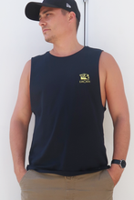 Daddy Singlet Navy blue/yellow limited edition