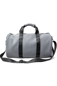 Neoprene Duffel Bag - Grey/Black