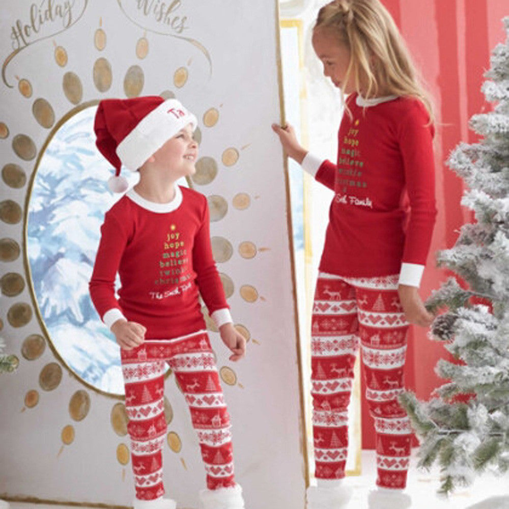 Kids Christmas Pajamas.Kids Xmas Pajamas