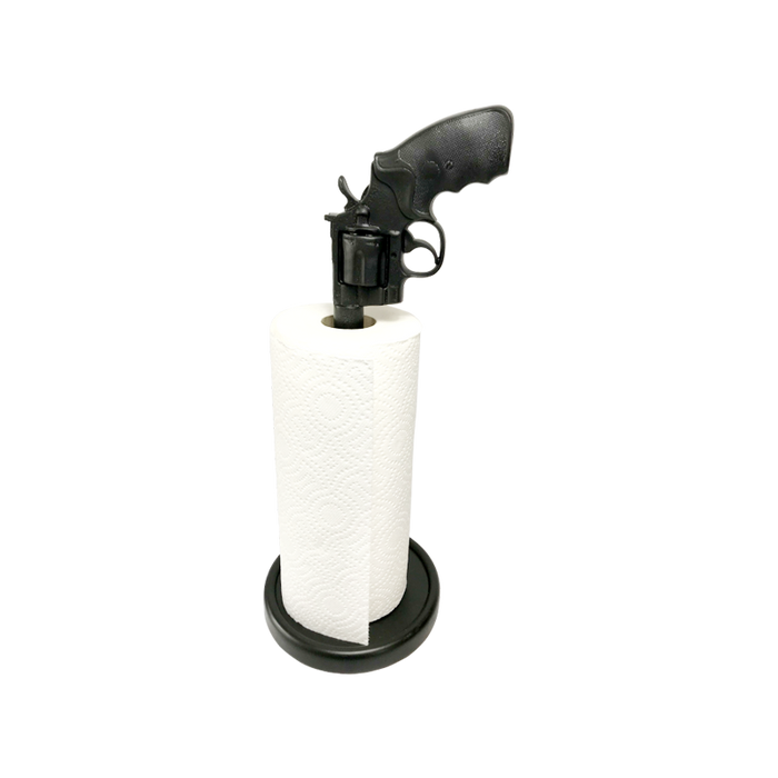 44 Magnum Paper Towel Holder