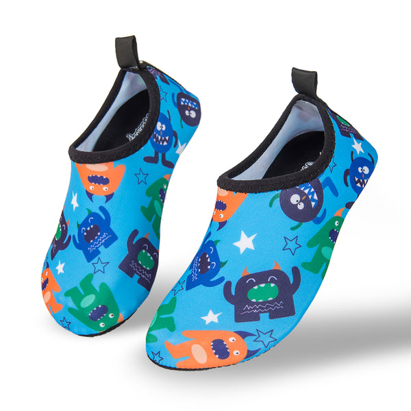 Aqua Sock Shoes Monsters