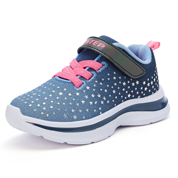 Shiny Stars Sport Sneaker with Memory Foam