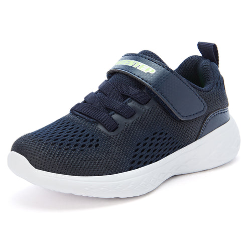 Pure Sport Sneakers with Memory Foam_Navy/Red