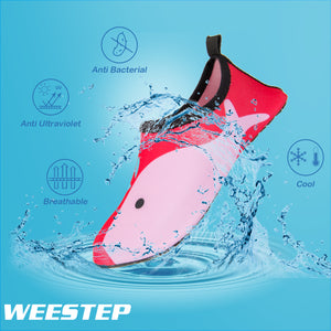 Aqua Sock Shoes Whale_Blue/Pink/Red