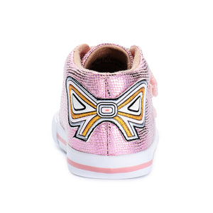Big Bow Sneaker_Pink/Silver
