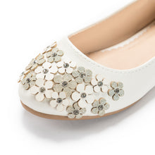 Flowers Ballet Flats_Pink/White