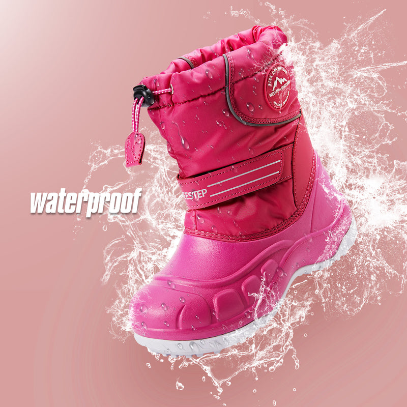 Simple Waterproof Snow Boots