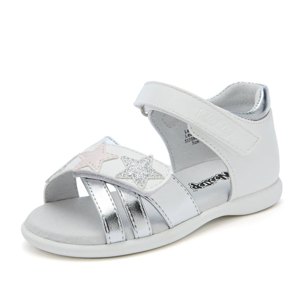 Toddler Stars Leather Sandal
