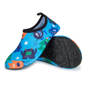 Aqua Sock Shoes Monsters_Blue