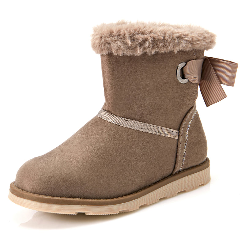 Girl's Fluffy Boots