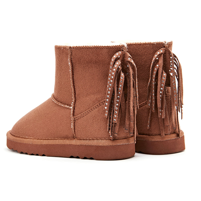 Girl's Pony Tail Boots
