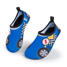 Aqua Sock Shoes Race Car_Blue/Red