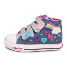 Rainbow High Top Sneaker_Blue