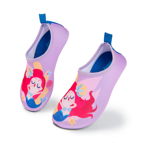 Aqua Sock Shoes Mermaid_Purple/Pink
