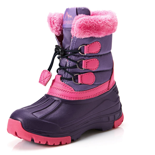 Furry Waterproof Snow Boots