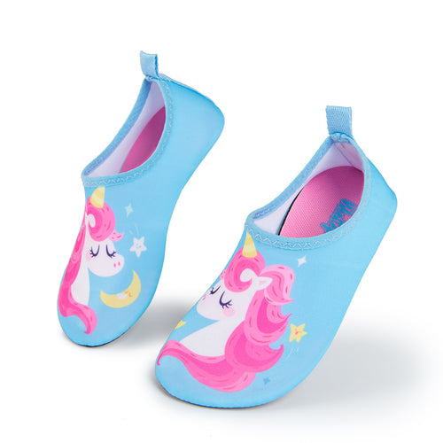 Aqua Sock Shoes Unicorn_Blue/Pink