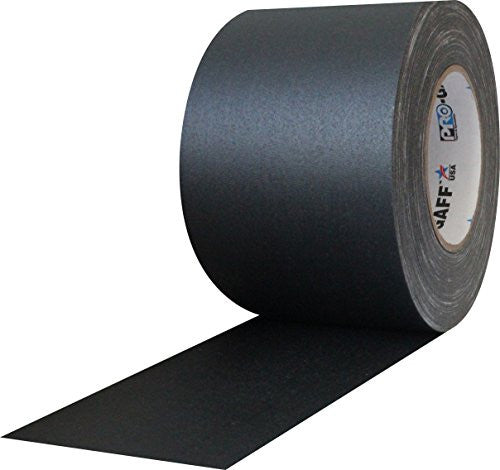 "ProTapes Pro Gaffer Tape (4"" x 55 yd - Black)"