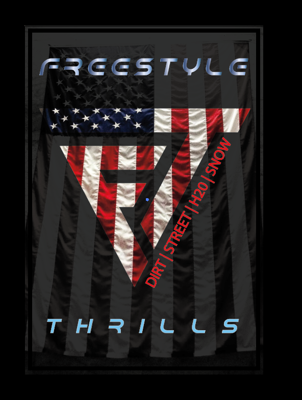 American Flag Freestyle Thrills Shirt