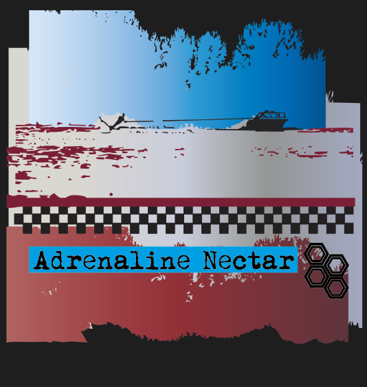 Red White and Blue Waterski Adrenaline Nectar