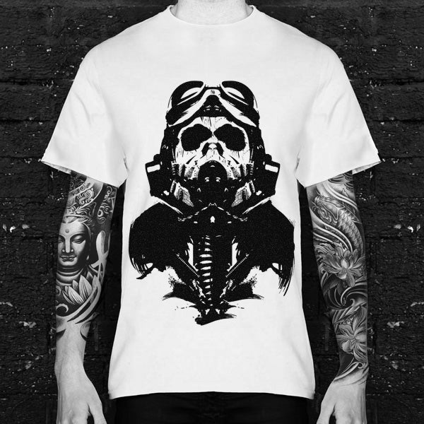 No Antidote Ghost Pilot Tshirt