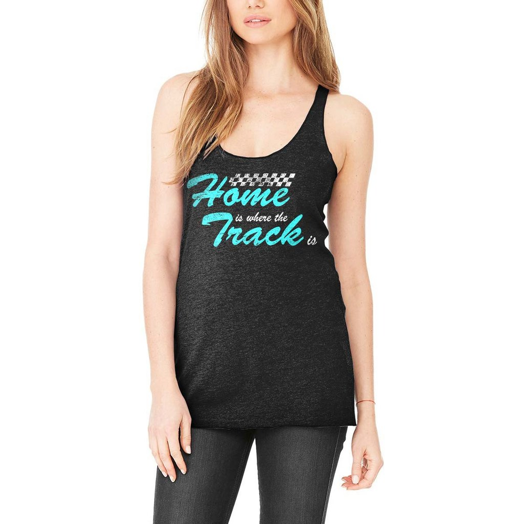 Womens Home is Where the Track Is Tank